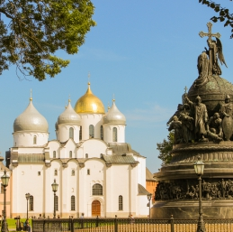 Voyage Veliki Novgorod - Cathédrale Sainte-Sophie