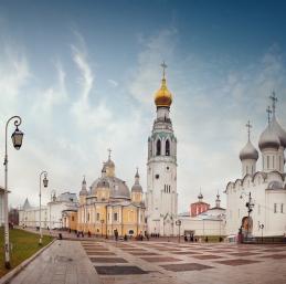 Vologda - Dans l'enceinte du Kremlin