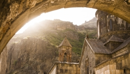 Voyage Arménie - Monastère de Guéghard