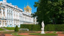 Saint-Pétersbourg - Le palais de Tsarskoïe Selo