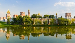 Voyage Moscou - Couvent de Novodievitchi