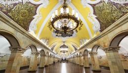Moscou - Station de métro Komsomolskaya