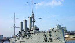 Visite Saint-Pétersbourg - Croiseur Aurore