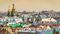 Voyage Saint-Pétersbourg - Cathédrale Saint Sauveur sur le Sang Versé