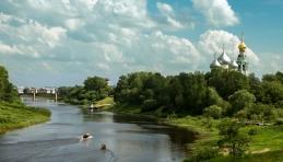 Paysage de Vologda